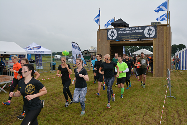 Obstacle Run – Highland Edition!