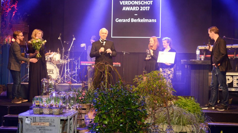 Gerard Berkelmans winnaar Karel Verdonschot Award 2017